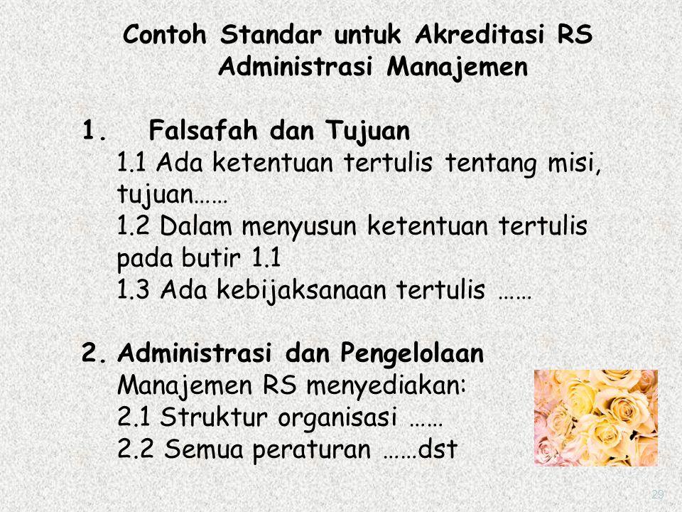 3. Akreditasi Penuh Diberikan untuk jangka waktu tiga tahun. Setelah itu RS mengajukan untuk periode berikutnya. 4. Akreditasi Istimewa Memenuhi stand