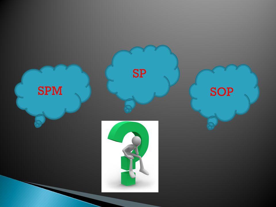SPM SP SOP