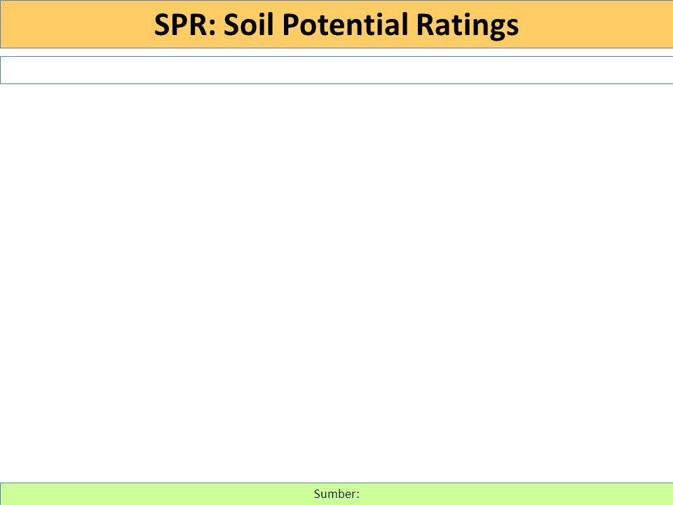 Sumber: SPR: Soil Potential Ratings