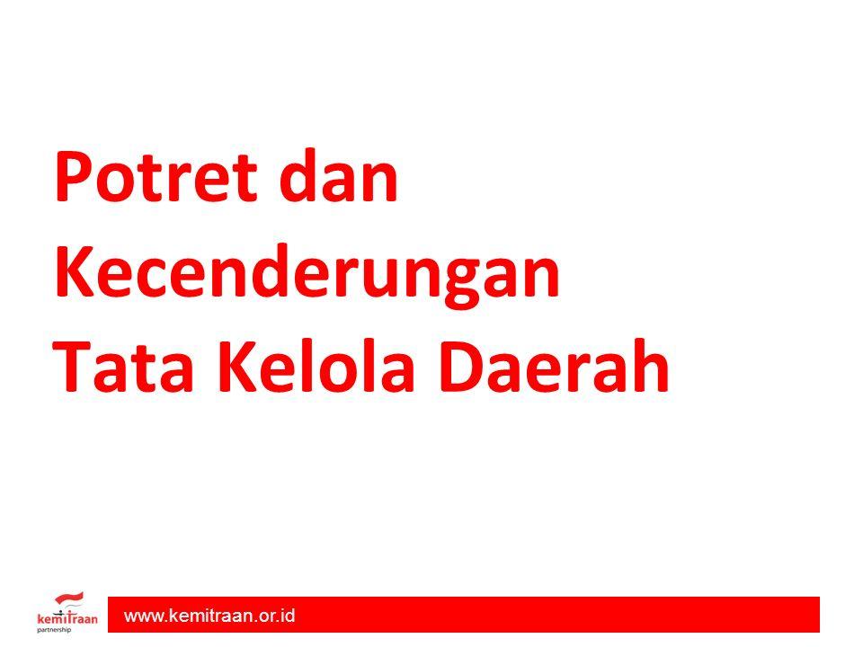 www.kemitraan.or.id Potret dan Kecenderungan Tata Kelola Daerah