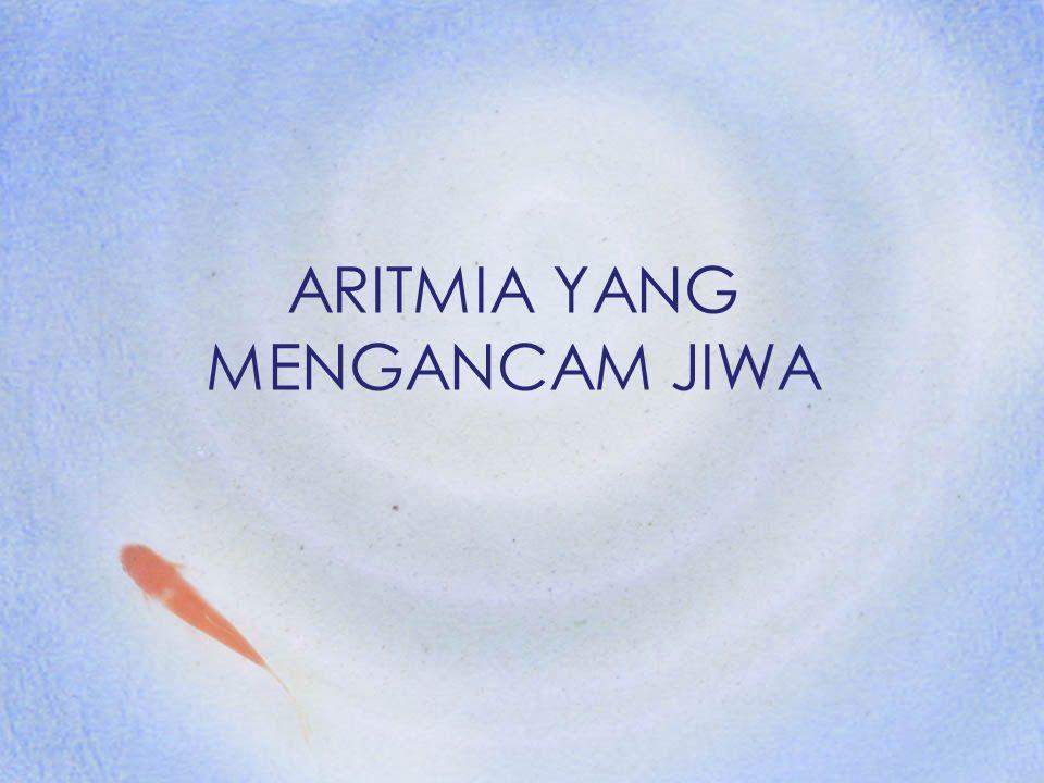 Diklat RS PHC Surabaya2 ARITMIA Sandapan Panjang II atau VI (Gelombang P) Irama Normal -sinus -Frekuensi : 60-100/menit Gangguan Pembentukan dan atau Penghantaran impuls