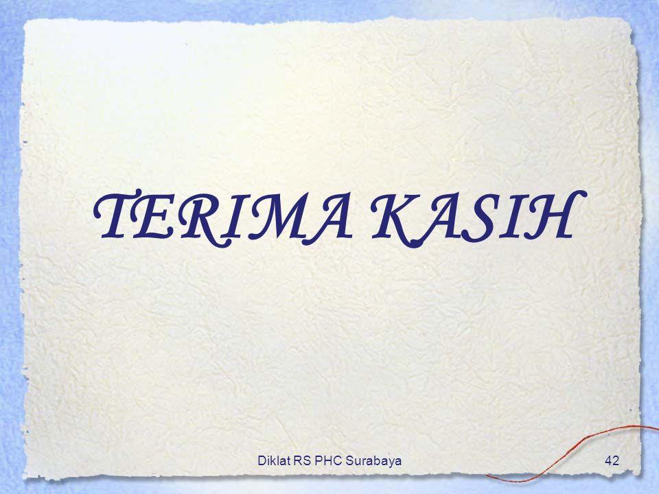 Diklat RS PHC Surabaya42 TERIMA KASIH