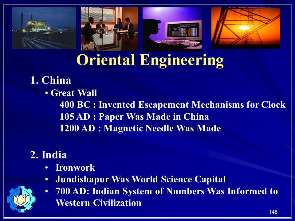 148 Oriental Engineering 1.