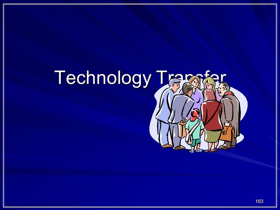 183 Technology Transfer