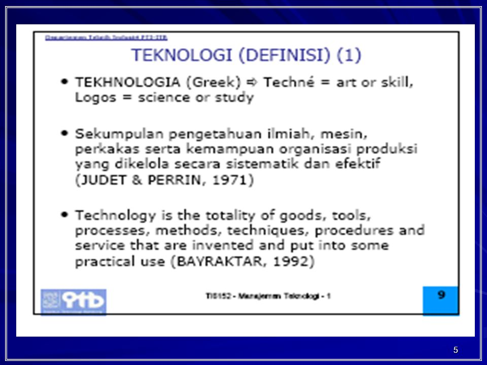 76 Technological Discontinuity (turbulence) Product Innovation Process Innovation Dominant Design Aging Technology (discontinuity) Technology live cycle Progress of Technology in relation to product and Process innovation