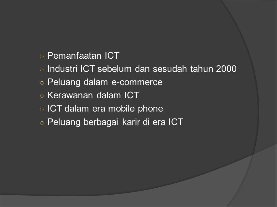  Mobile phone: multi tasking utk ticketing, payment, audio video,  Butuh infrastruktur, backbones, high speed relays, wireless charging.