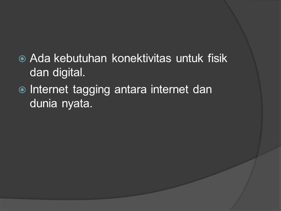  Ada kebutuhan konektivitas untuk fisik dan digital.