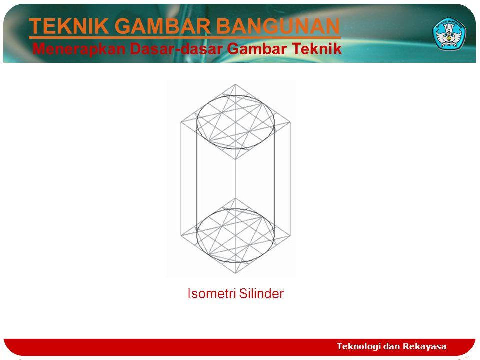 Teknologi dan Rekayasa Isometri Silinder TEKNIK GAMBAR BANGUNAN Menerapkan Dasar-dasar Gambar Teknik