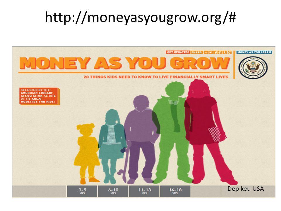 http://moneyasyougrow.org/# Dep keu USA