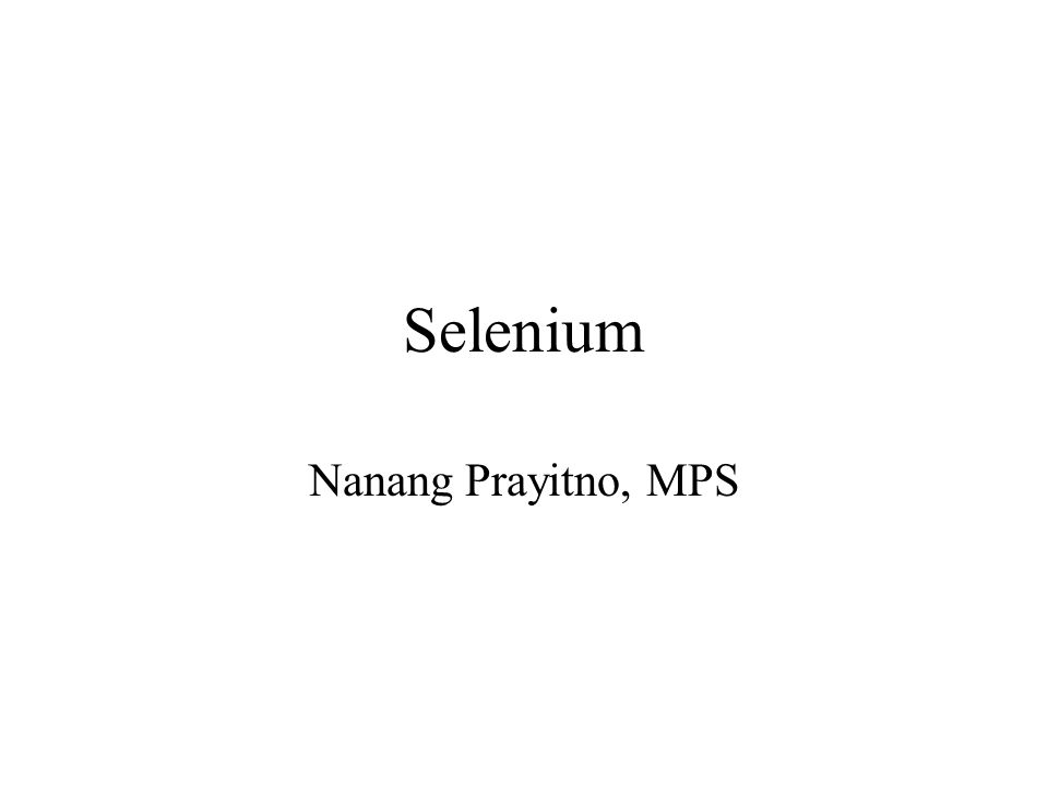 Selenium Selenium was discovered by Berzelius in 1817 Selenium exists in several oxidation states, including Se2-, Se4+, and Se6+ The chemistry of selenium is similar to that of sulfur, consequently, selenium can contribute for sulfur in amino acids such as methionine, cystine.