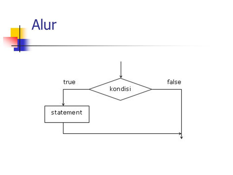 Contoh int nilai = 7; if(nilai > 8) { cout<< Sangat Bagus ; } else if(nilai > 5) { cout<< Bagus ; } else { cout<< Gagal ; }