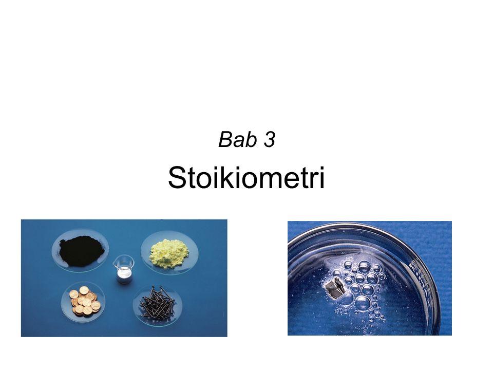 Stoikiometri Bab 3
