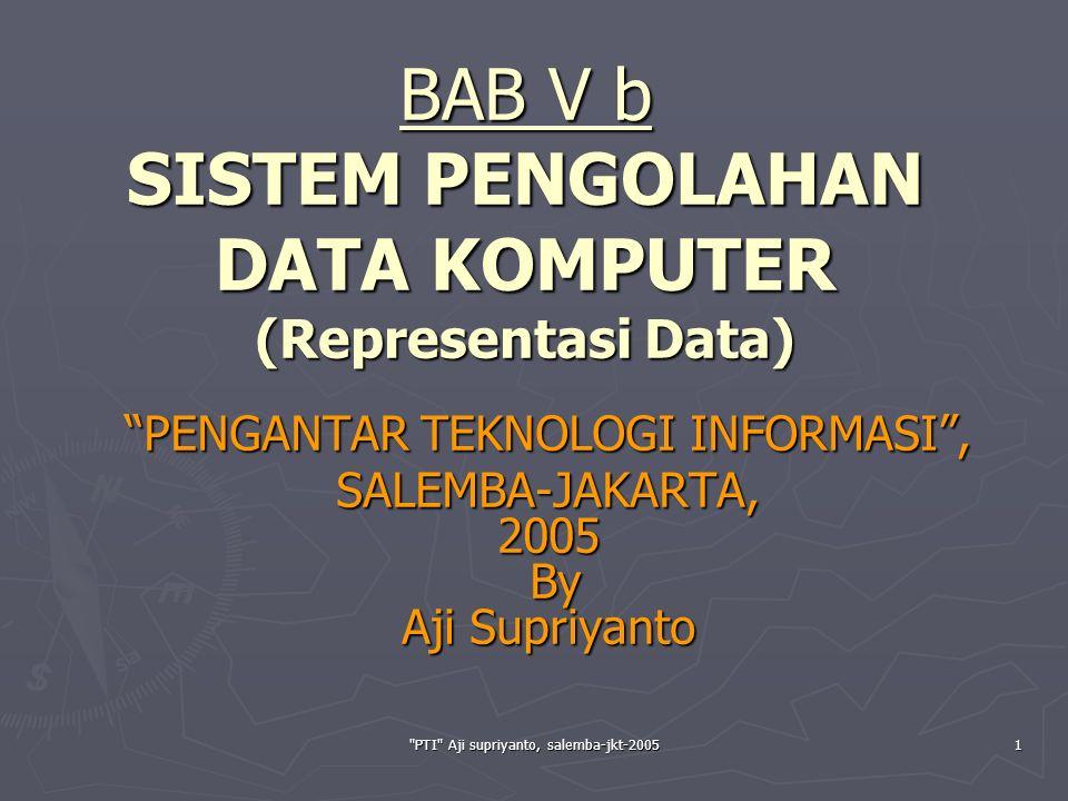 PTI Aji supriyanto, salemba-jkt-200512