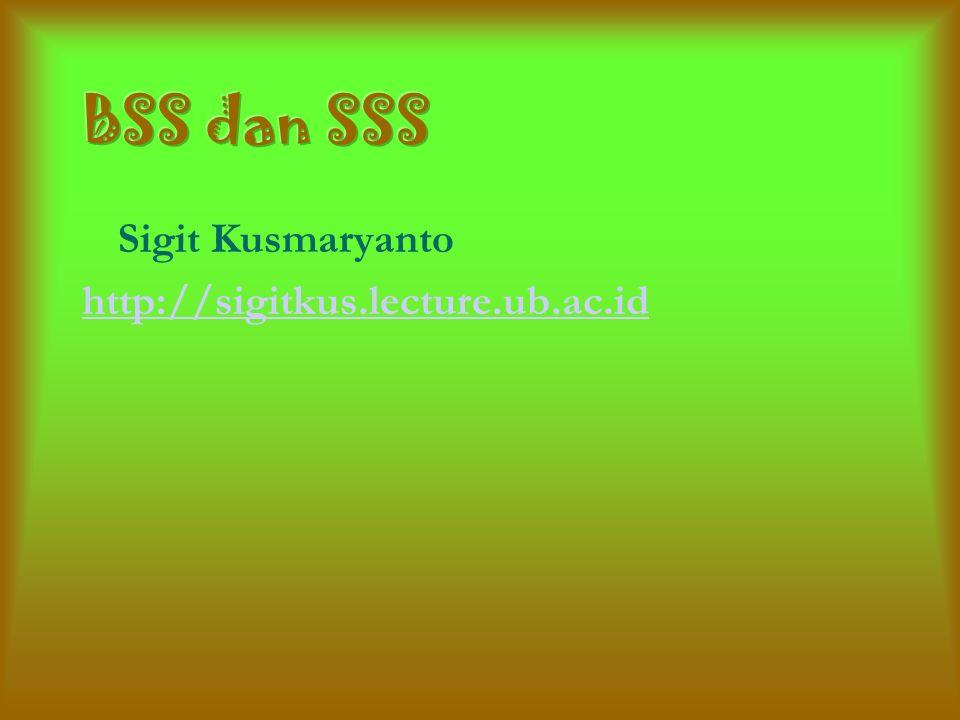 Sigit Kusmaryanto http://sigitkus.lecture.ub.ac.id