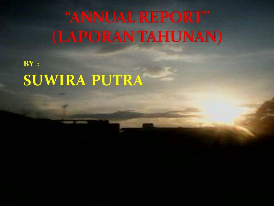 BY : SUWIRA PUTRA