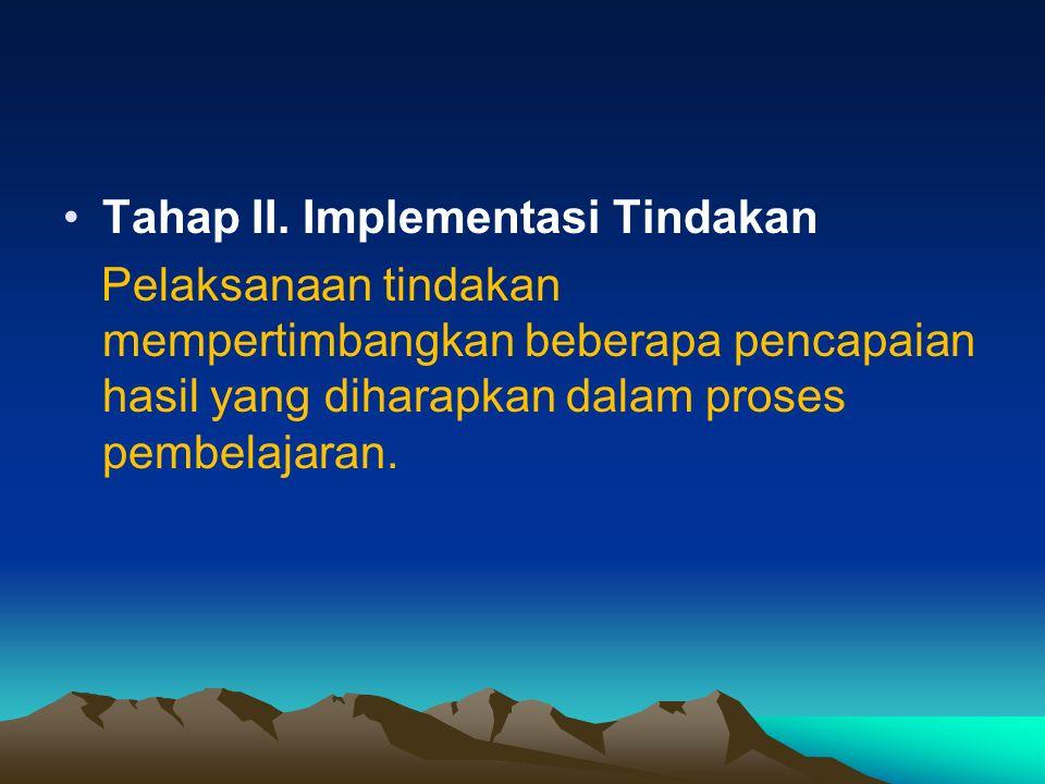 Tahap III.