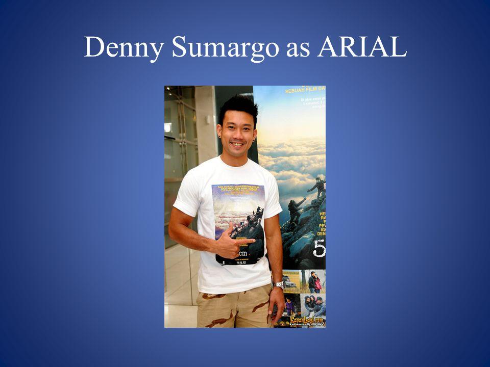 Denny Sumargo as ARIAL