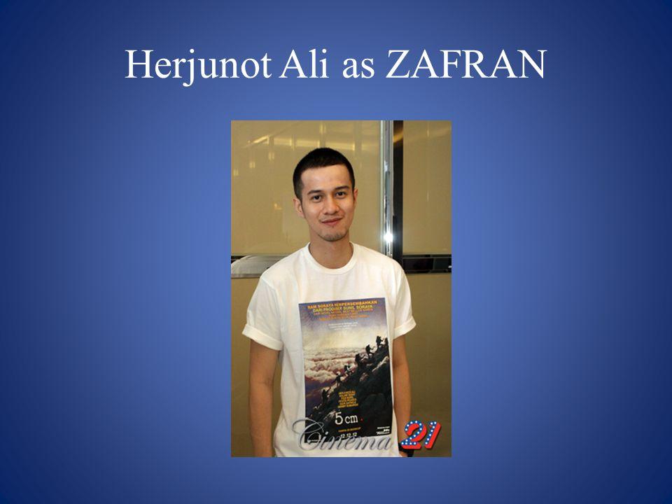 Herjunot Ali as ZAFRAN