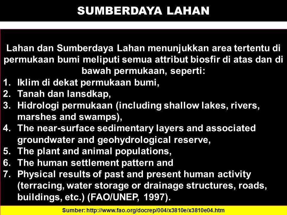7.Faktor Khusus (Bahan Kasar, Batuan dan Banjir) Faktor khusus merupakan penghambat yang tidak selalu dijumpai di semua daerah, melainkan hanya ditemukan pada lahan tertentu saja.