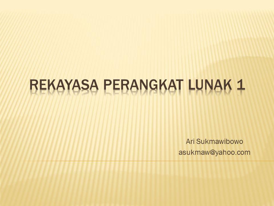 Ari Sukmawibowo asukmaw@yahoo.com