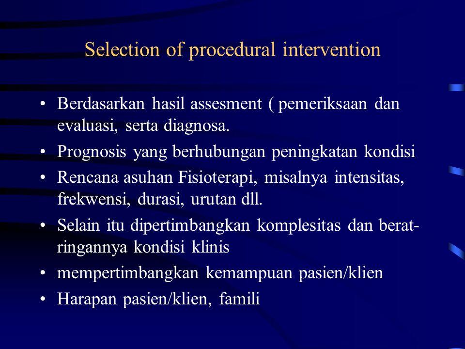 Patient / client related instruction Proses pemberian informasi, pendidikan, atau pelatihan kepada pasien/klien/famili Instruksi berkaitan dengan: kon