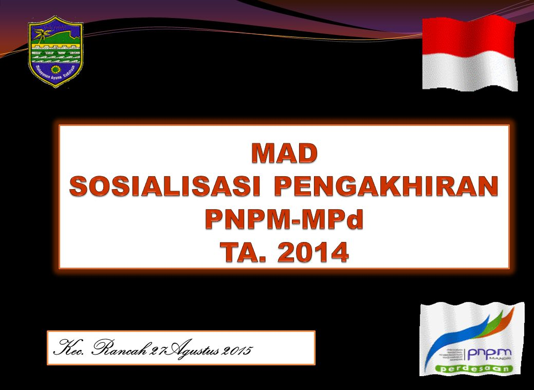 Kebijakan Pokok Pengakhiran PNPM MPd 12 3