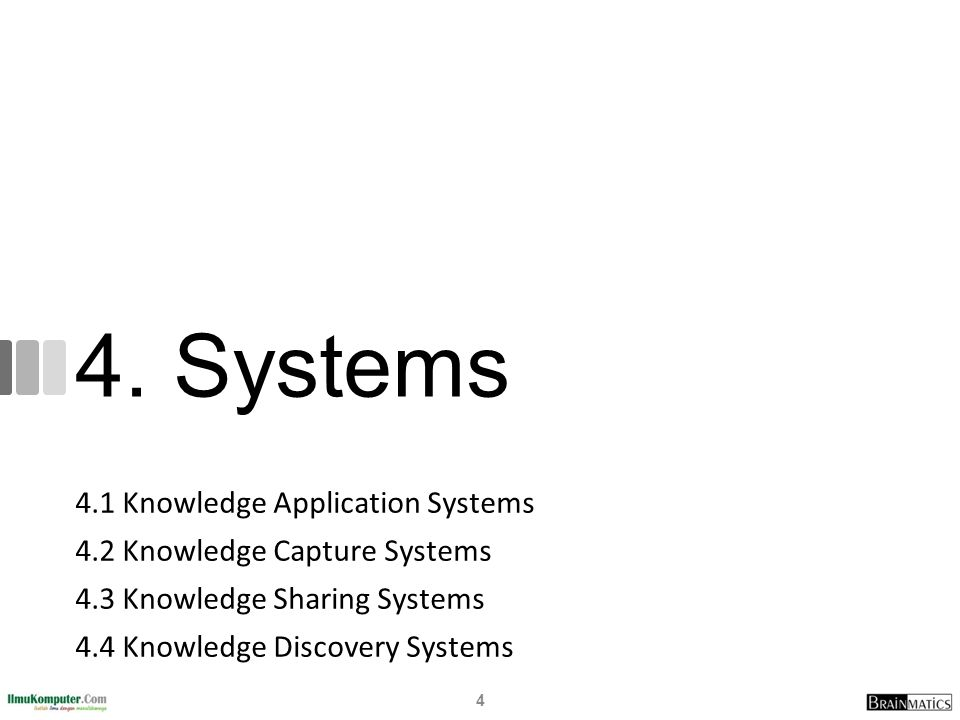 Type of Knowledge Sharing Systems Incident report databases Alert systems Best practices databases Lessons learned systems Expertise locator systems 15