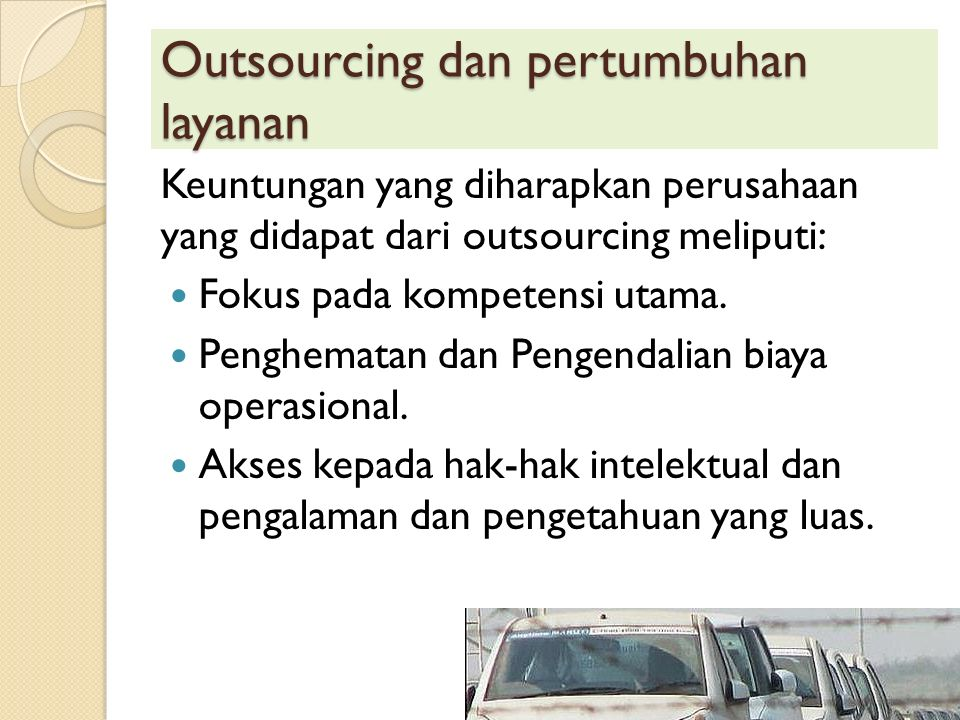 Business-to- business services (traditional) Business-to- business services (KIBS) Consumer services Internal firm services Public servicesNot-for-profit services Descriptionmenyediakan layanan untuk.