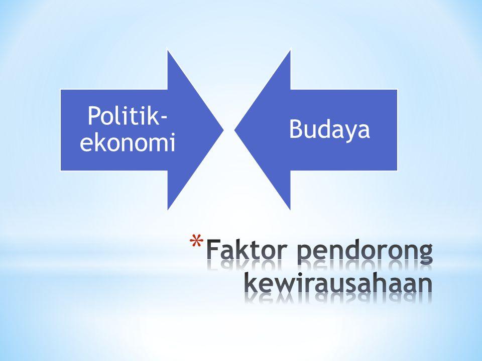 Politik- ekonomi Budaya