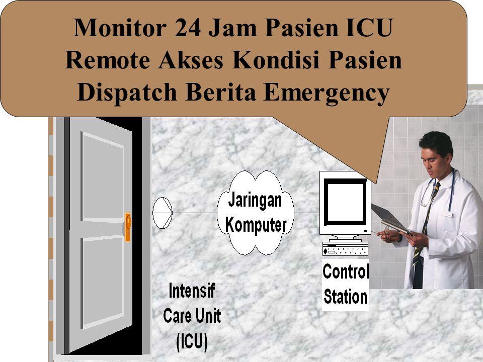 Monitor 24 Jam Pasien ICU Remote Akses Kondisi Pasien Dispatch Berita Emergency