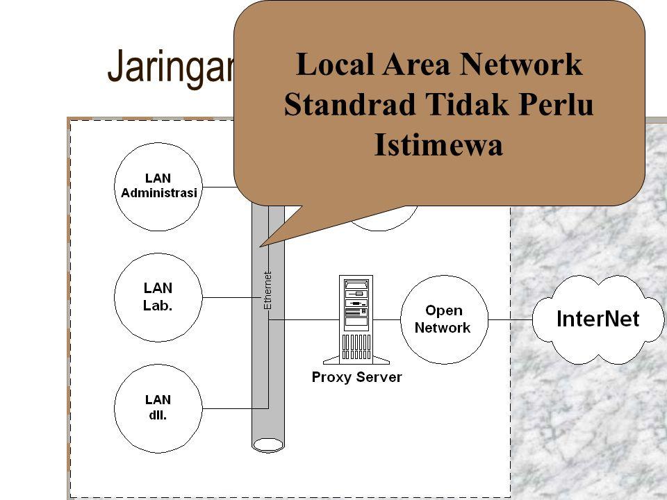 Local Area Network Standrad Tidak Perlu Istimewa