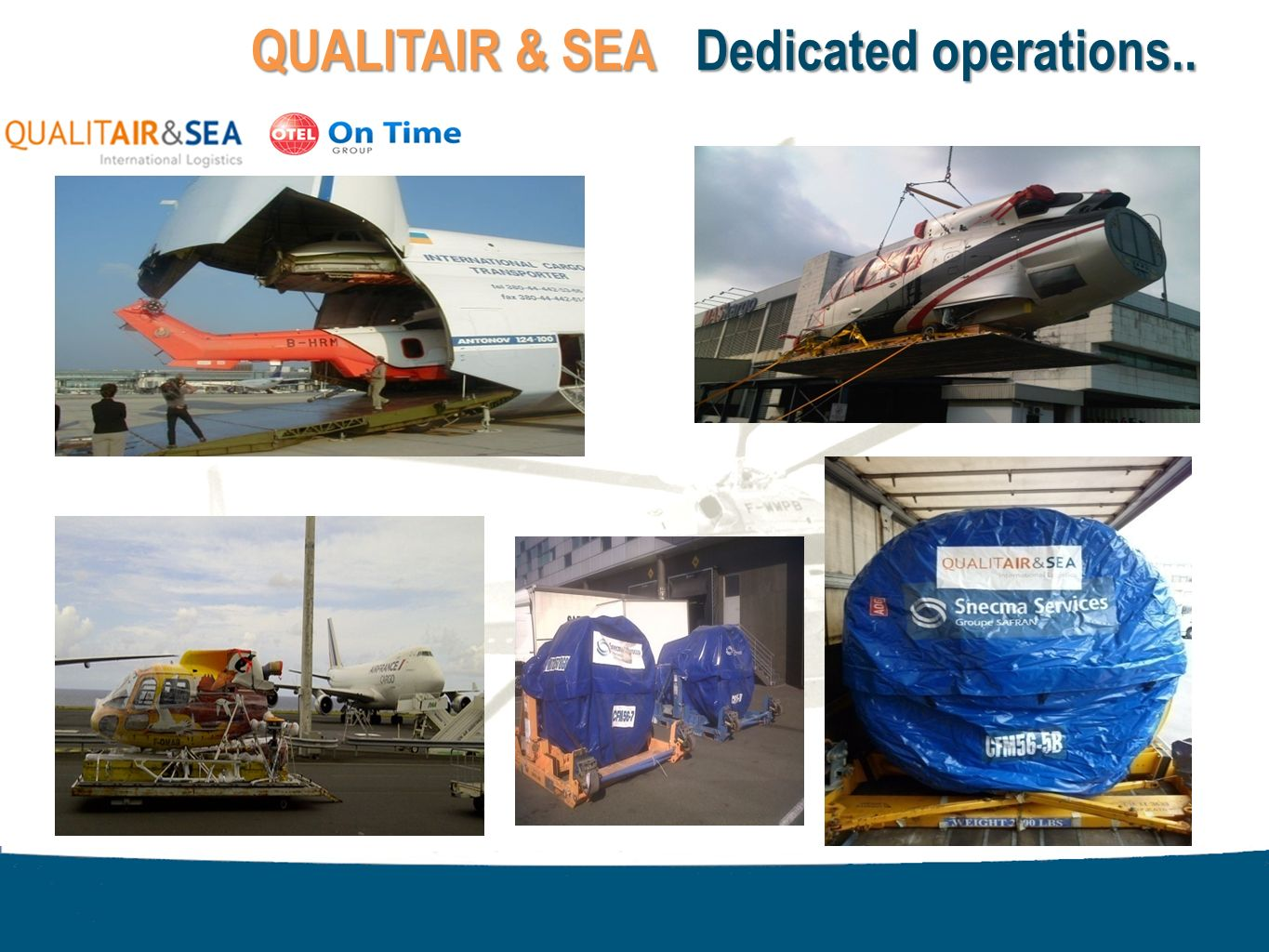 Page 17 QUALITAIR & SEA Dedicated operations..