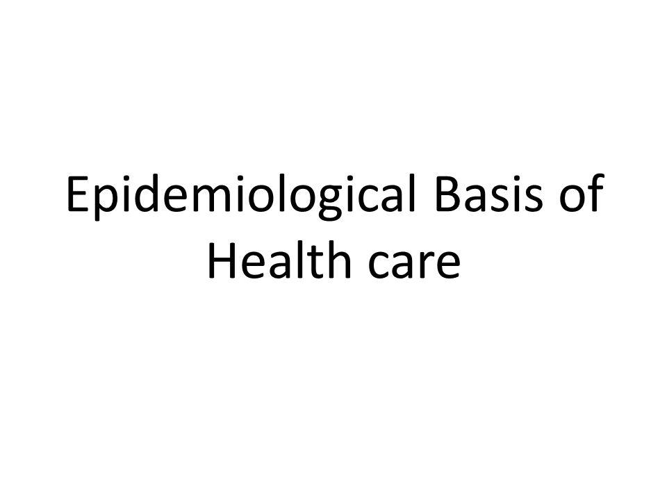 Epidemiologi secara formal didefinisikan dalam beberapa arti.