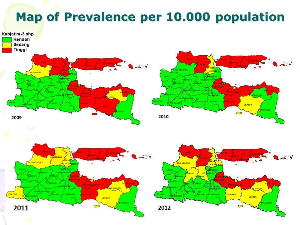 SITUASI kusta di jatim + 30 % penderita kusta di indonesia ada di Jatim ( Des 2012 : 4.803 ) Angka prevalensi des 2012 : 1,46/10.000 pddk Proporsi anak : 9% Proporsi cacat tk 2 : 14%