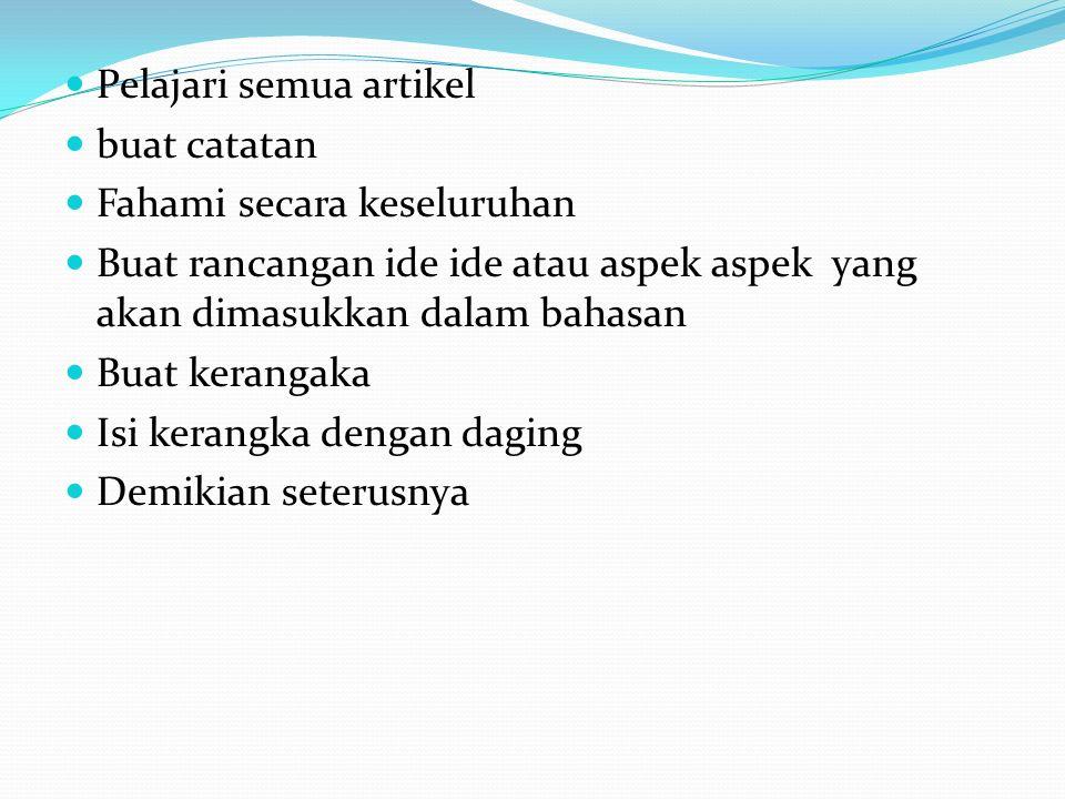 Contoh Kerangka Genre-Based Approach (GBA) to Foreign Language Teaching A.
