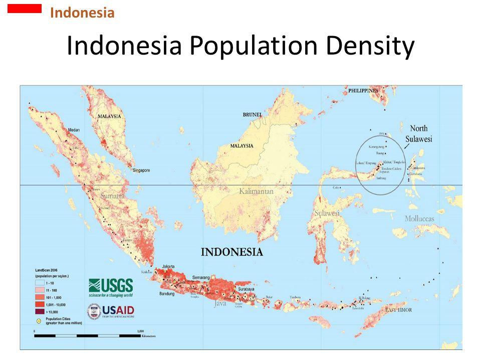 Indonesia Population Density Indonesia