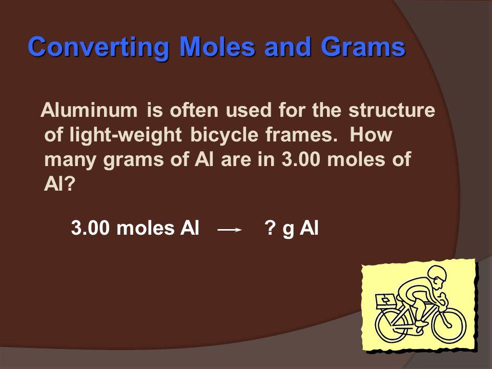 molar mass Grams Moles Calculations with Molar Mass