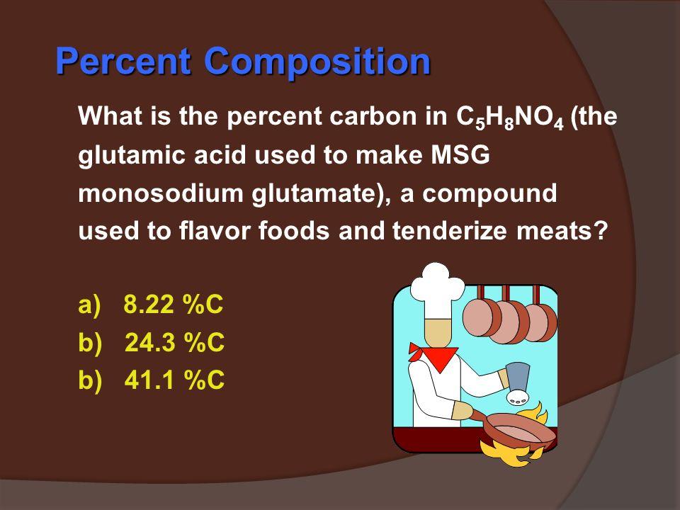 Tahap 2. Penentuan masing – masing unsur yang ada N = 42,0 g N x 100% = 28,2 % 149,1 g (NH 4 ) 3 PO 4 H = 12,1 g H x 100% = 8,1 % 149,1 g (NH 4 ) 3 PO