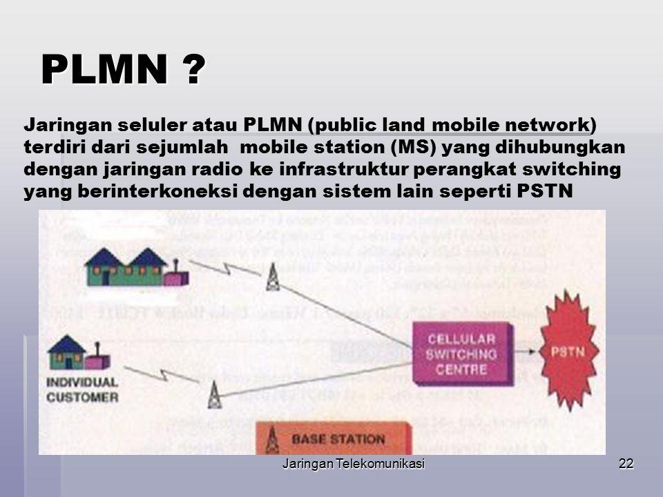Jaringan Telekomunikasi23 Perbandingan PSTN dan PLMN
