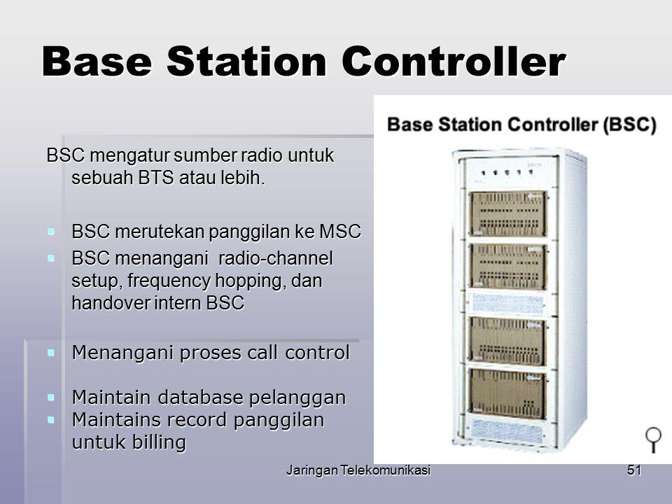 Jaringan Telekomunikasi52 BSC