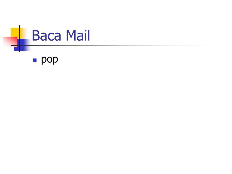 Baca Mail pop
