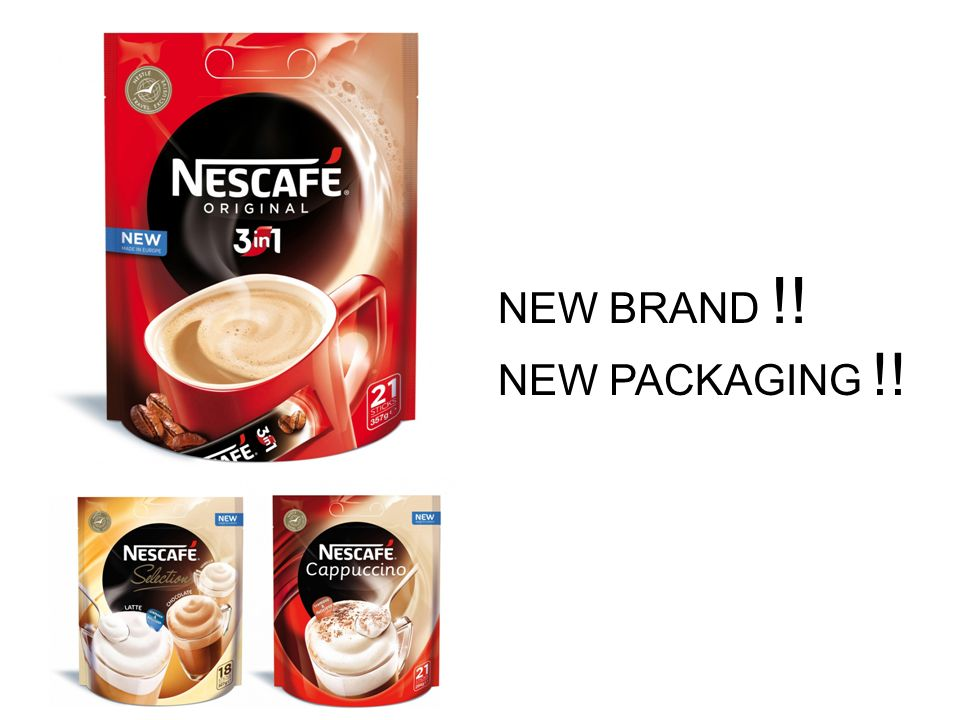 NEW BRAND !! NEW PACKAGING !!