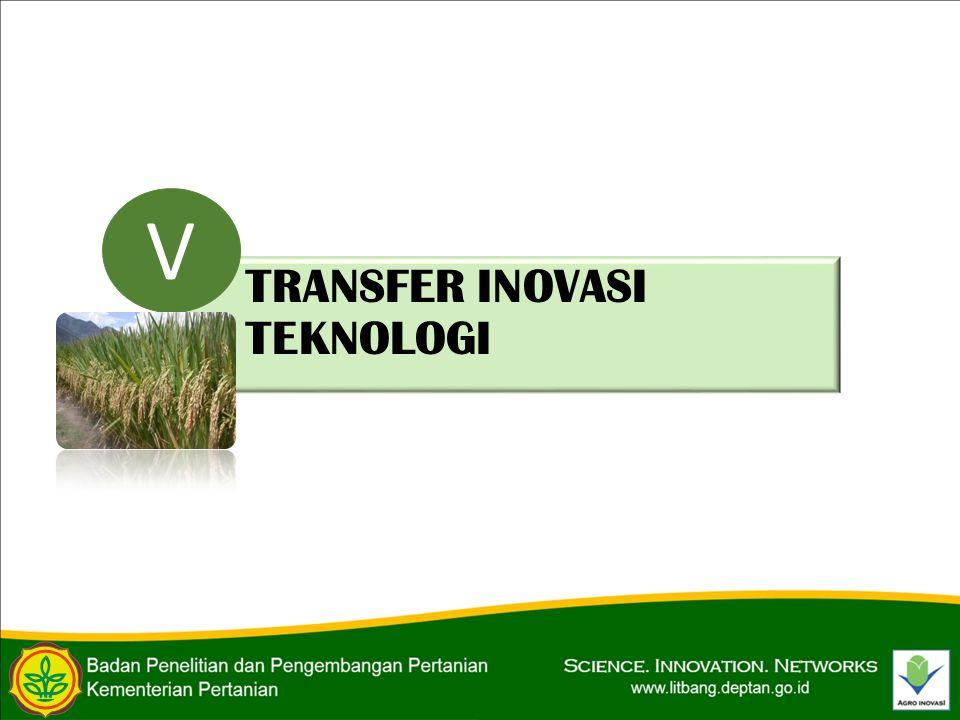 TRANSFER INOVASI TEKNOLOGI V