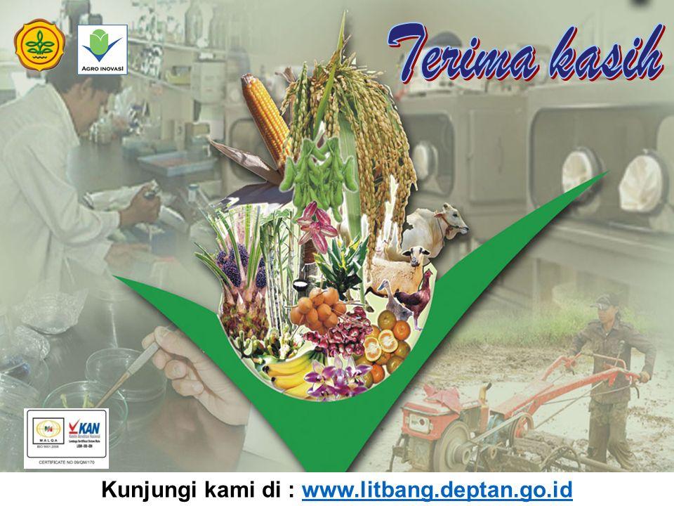 56 Kunjungi kami di : www.litbang.deptan.go.idwww.litbang.deptan.go.id