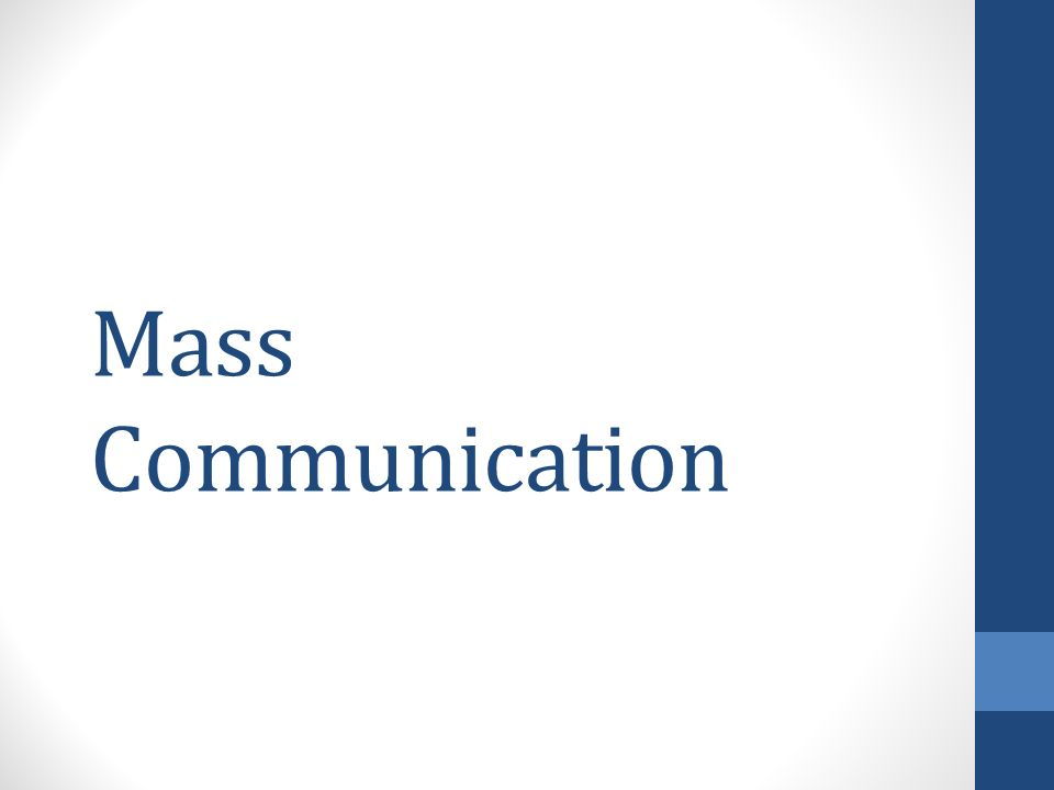 the function of mass communication in social marketing: Mass communication aims to inform and persuade, in a given time, the largest number of target adopters, about how the product fits their needs and better than the alternative product