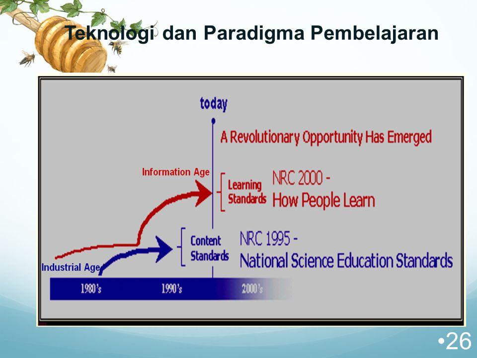 Teknologi dan Paradigma Pembelajaran 26