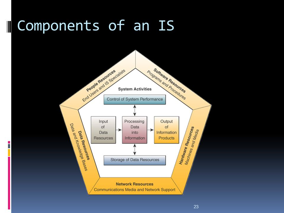 23 Components of an IS