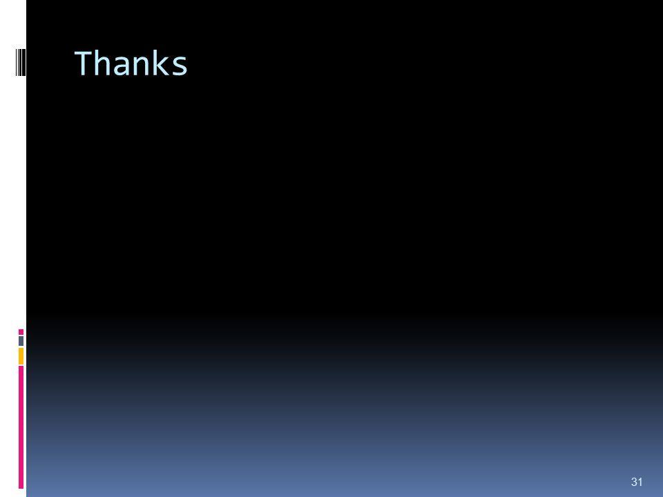 Thanks 31