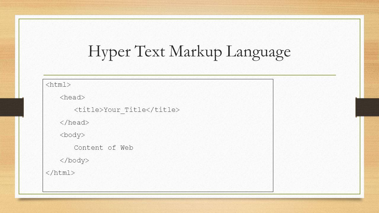 Lists HTML Lists HTML : Ordered List ... Unordered List ......