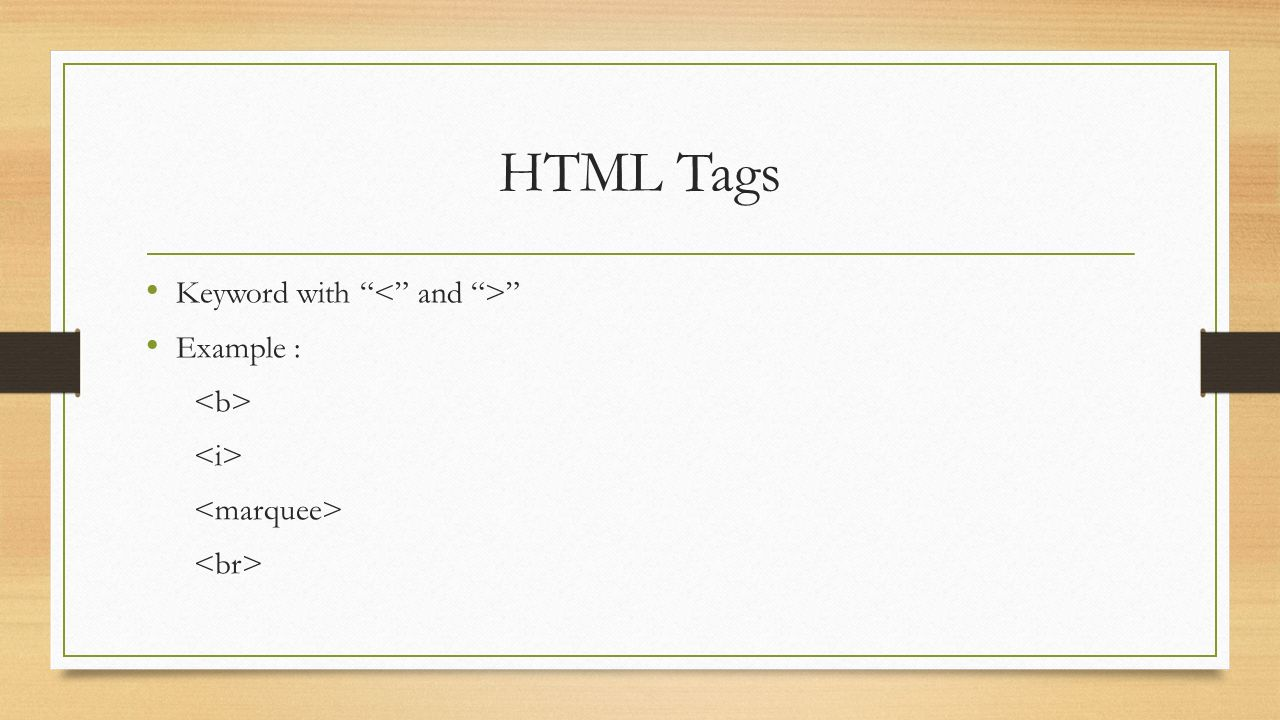 HTML Element Start TagContentEnd Tag This Is Link This Is Sparta!